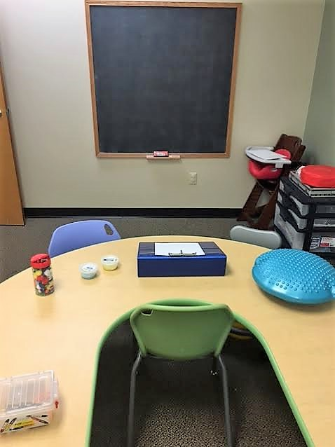 Handwriting Treatment Room