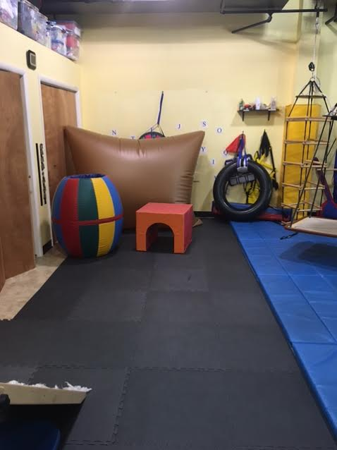 Sensory Gym Air Pillow and Tumbling Barrel