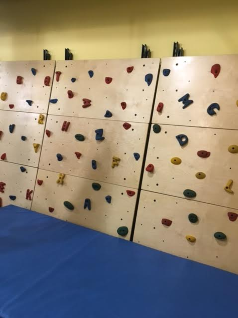 Sensory Gym Rock Wall